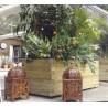 Lots de jardinières bois Classique