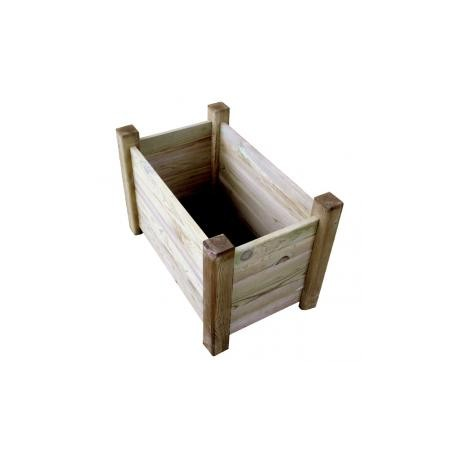 Jardinière rectangulaire bois