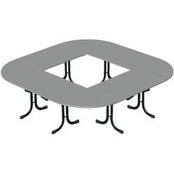 Table Vendée ¼ rond