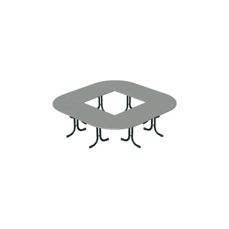 Table Vendée ¼ rond ou ½ rond
