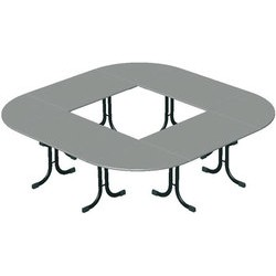 Table Vendée ½ rond