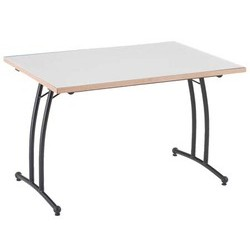 Table Jupiter stratifié ¼ rond Ø 140 cm