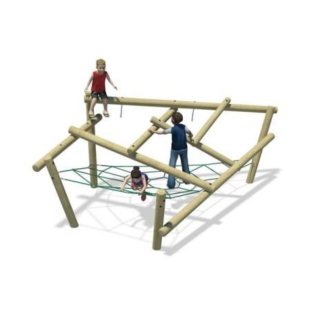 Structure de jeux Chimpanzé