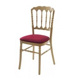 Chaise de Banquet Médiéval Or