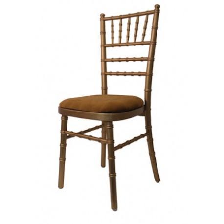 Chaise de Banquet Baroque Or