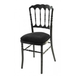 Chaise de Banquet Médiéval Black Pearl
