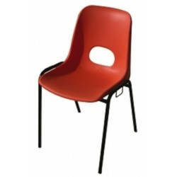 Chaise coque Lilou