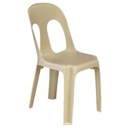 Chaise monobloc Sirtaki anti-feu M2