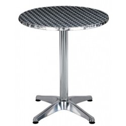 Table de café en aluminium