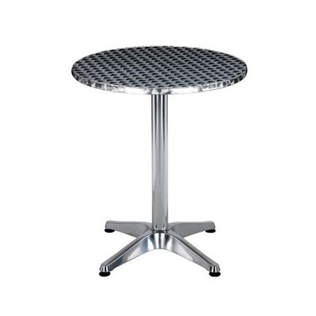 Table de café en aluminium