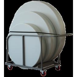 Chariot Planète pour tables rondes