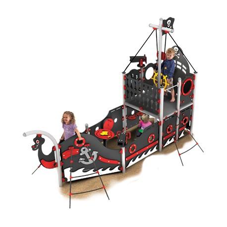 Le bateau pirates de Barberousse