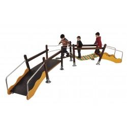 Parcours de jeux pour enfants