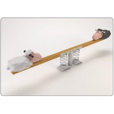 """Balançoire horizontale """"les 2 moutons"""""""