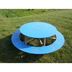 Table pique-nique ronde pour enfants