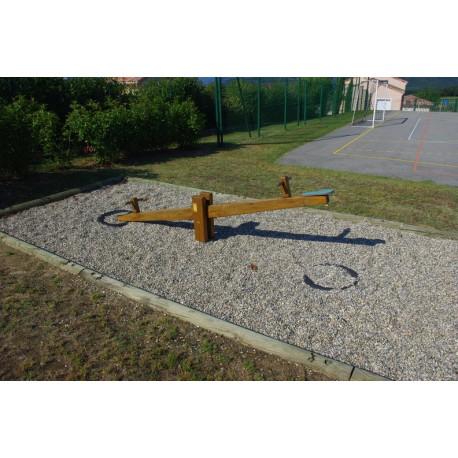 Balançoire horizontale - 3 mètres