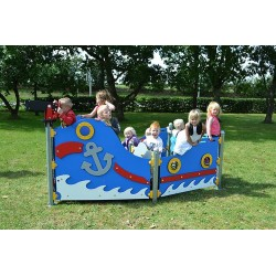 Le bateau des petits pirates