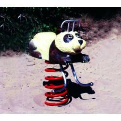Panda jeu sur ressort