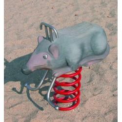 La souris jeu sur ressort