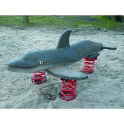 Grand dauphin jeu sur ressort