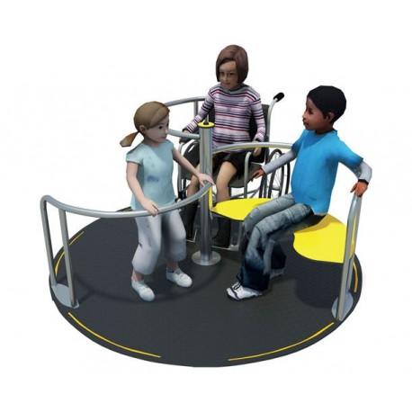 Tourniquet intox avec accès fauteuil roulant PMR