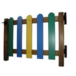 Portillon barrières pour aire de jeux