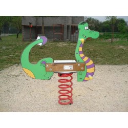 Dragon jeu sur ressort