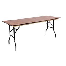 Lot de 10 tables de traiteur 183 x 76 cm