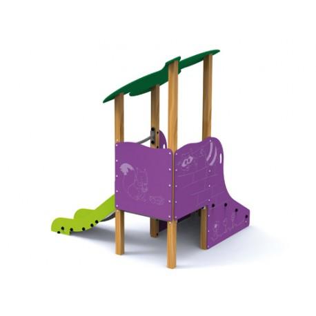 Structure de jeux Palmier