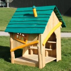 Cabane pour enfants en bois de robinier