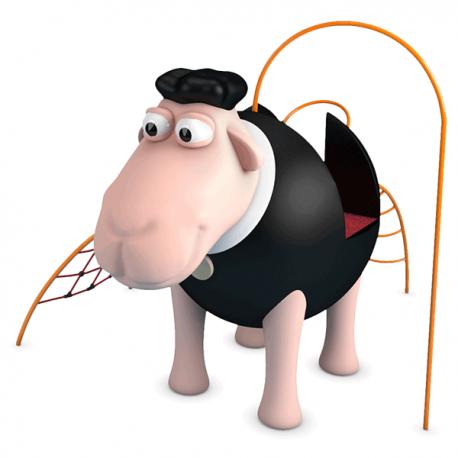 """Structure de jeux """"le mouton noir ou blanc au choix"""""""