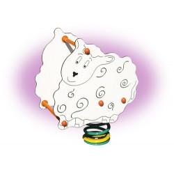 Mouton jeu sur ressort