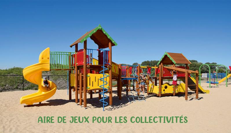 AIRE DE JEUX POUR LES COLLECTIVITÉS